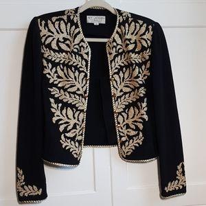ST. JOHN Evening by Marie Gray Elegant Knit Jacket